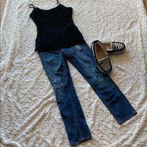Aeropostale Skinny Crop Jeans